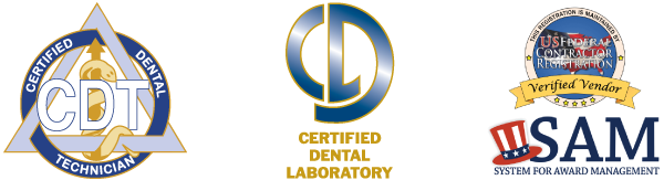 Iverson dental labs is a certified dental lab