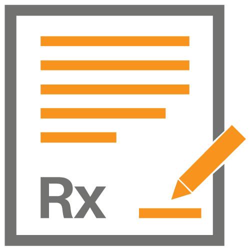 rx lab slip