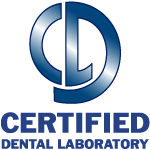Certified Dental Lab logo