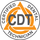 certified dental technician CDT logo